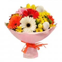 Karışık mevsim buketi Mevsimsel çiçek  Malatya anneler günü çiçek yolla