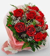 12 adet kırmızı güllerden kaliteli gül  Malatya hediye sevgilime hediye çiçek