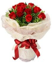 12 adet kırmızı gül buketi  Malatya yurtiçi ve yurtdışı çiçek siparişi