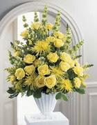 Malatya cicekciler , cicek siparisi  sari güllerden sebboy tanzim çiçek siparisi