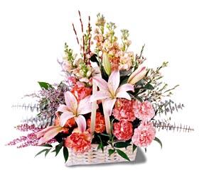 Malatya cicekciler , cicek siparisi  mevsim çiçekleri sepeti özel tanzim