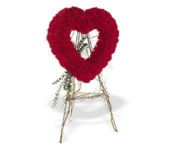 Malatya uluslararası çiçek gönderme  karanfillerden kalp pano