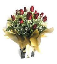 Malatya anneler günü çiçek yolla  11 adet kirmizi gül  buketi