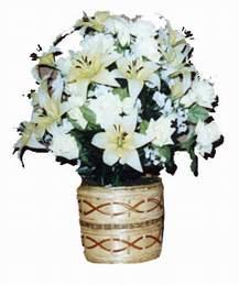 yapay karisik çiçek sepeti   Malatya çiçek gönderme sitemiz güvenlidir