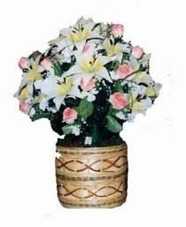 yapay karisik çiçek sepeti   Malatya İnternetten çiçek siparişi