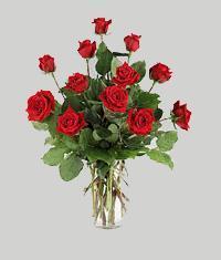 Malatya çiçek mağazası , çiçekçi adresleri  11 adet kirmizi gül vazo halinde