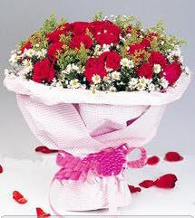 Malatya uluslararası çiçek gönderme  12 ADET KIRMIZI GÜL BUKETI