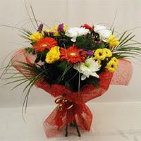 Malatya online çiçek gönderme sipariş  Karisik mevsim demeti