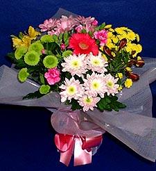 Malatya online çiçek gönderme sipariş  küçük karisik mevsim demeti