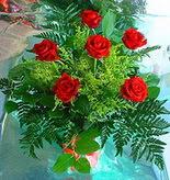 6 adet kirmizi gül buketi   Malatya çiçek online çiçek siparişi