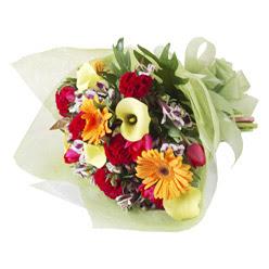 karisik mevsim buketi   Malatya çiçek satışı
