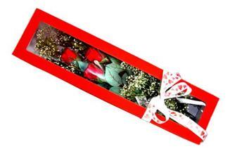 Malatya online çiçek gönderme sipariş  Kutuda 3 adet gül