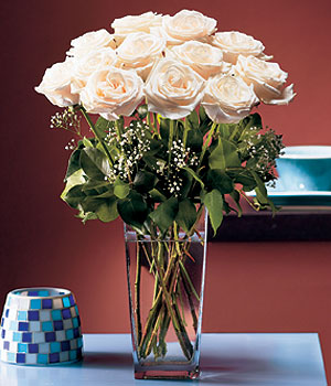 Malatya online çiçekçi , çiçek siparişi  Cam yada mika vazo içerisinde 12 gül