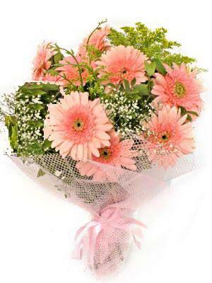 Malatya çiçekçiler  11 adet gerbera çiçegi buketi