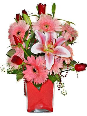 Malatya çiçek servisi , çiçekçi adresleri  karisik cam yada mika vazoda mevsim çiçekleri mevsim demeti