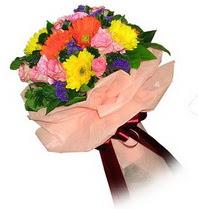 Malatya cicek , cicekci  Karisik mevsim çiçeklerinden demet