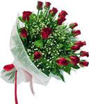 Malatya uluslararası çiçek gönderme  11 adet kirmizi gül buketi sade ve hos sevenler