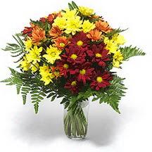 Malatya cicekciler , cicek siparisi  Karisik çiçeklerden mevsim vazosu