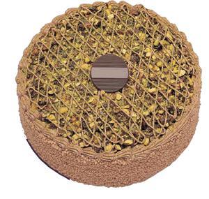 Krokanli 4 ile 6 kisilik yas pasta leziz  Malatya çiçek siparişi sitesi