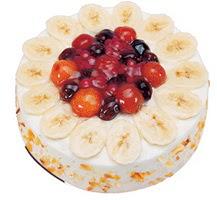 Meyvali 4 ile 6 kisilik yas pasta leziz  Malatya çiçek siparişi vermek
