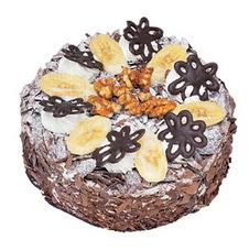 Muzlu çikolatali yas pasta 4 ile 6 kisilik   Malatya kaliteli taze ve ucuz çiçekler