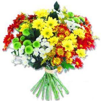 Kir çiçeklerinden buket modeli  Malatya çiçek online çiçek siparişi
