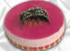 pasta siparisi 4 ile 6 kisilik yas pasta framboaz yaspasta  Malatya çiçek gönderme