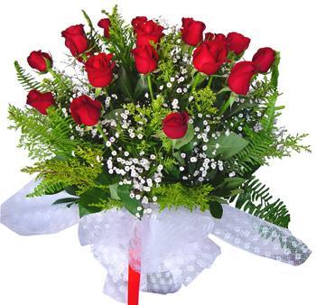 11 adet gösterisli kirmizi gül buketi  Malatya uluslararası çiçek gönderme