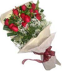 11 adet kirmizi güllerden özel buket  Malatya anneler günü çiçek yolla
