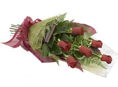 ucuz çiçek siparisi 6 adet kirmizi gül buket  Malatya cicekciler , cicek siparisi