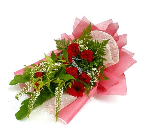 Karisik çiçek buketi mevsim buket  Malatya cicekciler , cicek siparisi
