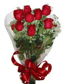 Çiçek sade gül buketi 7 güllü buket  Malatya çiçek online çiçek siparişi
