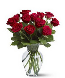 Malatya hediye çiçek yolla  cam yada mika vazoda 10 kirmizi gül