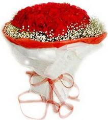 Malatya 14 şubat sevgililer günü çiçek  41 adet kirmizi gül buketi