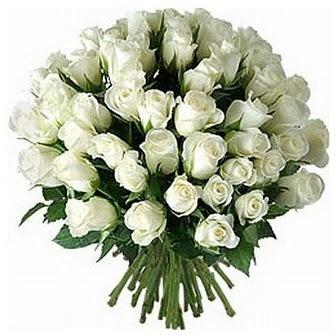 Malatya İnternetten çiçek siparişi  33 adet beyaz gül buketi