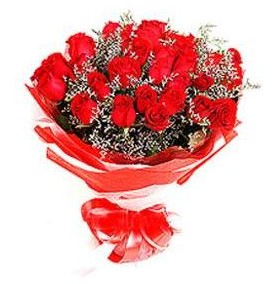 Malatya çiçek gönderme sitemiz güvenlidir  12 adet kırmızı güllerden görsel buket