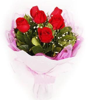 Malatya online çiçekçi , çiçek siparişi  kırmızı 6 adet gülden buket