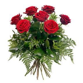Malatya çiçek online çiçek siparişi  7 adet kırmızı gülden buket