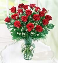 Malatya uluslararası çiçek gönderme  9 adet mika yada vazoda kirmizi güller