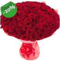 Özel mi Özel buket 101 adet kırmızı gül  Malatya yurtiçi ve yurtdışı çiçek siparişi