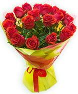 19 Adet kırmızı gül buketi  Malatya hediye sevgilime hediye çiçek