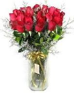 27 adet vazo içerisinde kırmızı gül  Malatya ucuz çiçek gönder