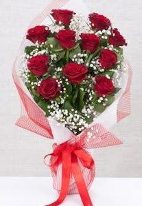 11 kırmızı gülden buket çiçeği  Malatya güvenli kaliteli hızlı çiçek