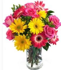 Vazoda Karışık mevsim çiçeği  Malatya cicek , cicekci