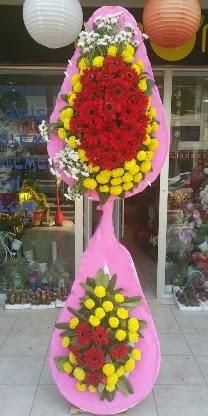 Çift katlı düğün nikah açılış çiçek modeli  Malatya 14 şubat sevgililer günü çiçek