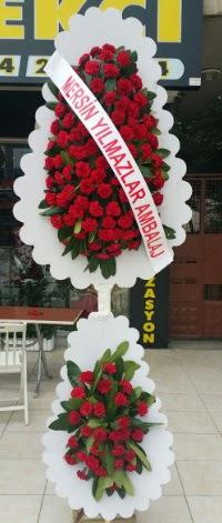 Çift katlı düğün nikah çiçeği modeli  Malatya online çiçek gönderme sipariş