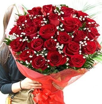 Kız isteme çiçeği buketi 33 adet kırmızı gül  Malatya hediye çiçek yolla