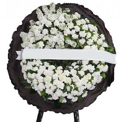 Cenaze çelengi çiçeği modelleri  Malatya uluslararası çiçek gönderme