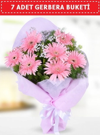 Pembe Gerbera Buketi  Malatya internetten çiçek siparişi