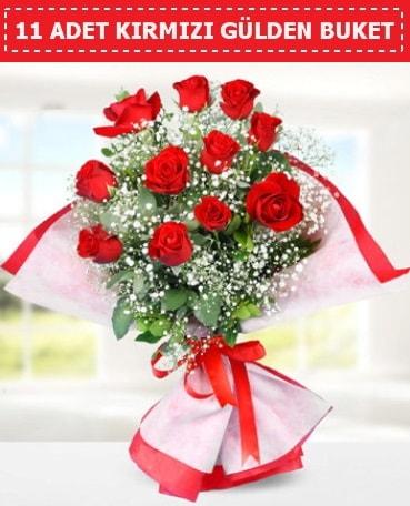 11 Adet Kırmızı Gül Buketi  Malatya anneler günü çiçek yolla